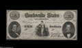 Confederate Notes:Group Lots, $30 Face Value in Confederate.... (3 notes)