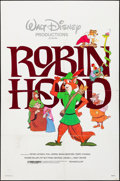 """Movie Posters:Animation, Robin Hood & Other Lot (Buena Vista, R-1982). Folded, Overall: Fine/Very Fine. One Sheets (3) (27"""" X 41""""). Animation.. ... (Total: 3 Items)"""