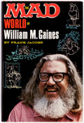 Books:General, The Mad World of William M. Gaines by Frank Jacobs File Copy (Lyle Stuart, 1972). ...