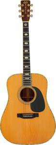 Musical Instruments:Acoustic Guitars, Graham Nash's Woodstock 1969 Martin D-45 Acoustic Guitar, Serial # 249131.. ...