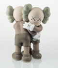 Collectible:Contemporary, KAWS (b. 1974). Together (Brown), 2018. Painted cast vinyl. 10 x 8 x 5 inches (25.4 x 20.3 x 12.7 cm). Open Edition. Sta...