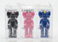 Prints & Multiples:Contemporary, KAWS (b. 1974). BFF Companion, set of three, 2017. Painted cast vinyl. 13-1/2 x 5 x 3 inches (34.3 x 12.7 x 7.6 cm) (eac... (Total: 3 Items)