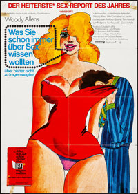 Everything You Always Wanted to Know About Sex, But Were Afraid to Ask (United Artists, 1973). Folded, Fine/Very Fine. G...