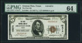 National Bank Notes:Texas, Aransas Pass, TX - $5 1929 Ty. 1 The First NB Ch. # 10274 PMG Choice Uncirculated 64.. ...