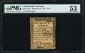 Continental Currency February 17, 1776 $1/6 PMG About Uncirculated 53