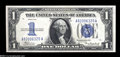 Error Notes:Inverted Reverses, Fr. 1606 $1 1934 Inverted Reverse Silver Certificate. Choice CrispUncirculated....