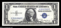 Error Notes:Inverted Reverses, Fr. 1608 $1 1935A Inverted Reverse Silver Certificate. Choice CrispUncirculated....