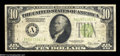 Error Notes:Inverted Reverses, Fr. 2002-A $10 1928B Inverted Reverse Federal Reserve Note.Fine-Very Fine....