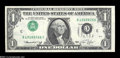 Error Notes:Inverted Third Printings, Fr. 1908-C $1 1974 Federal Reserve Note. Gem Crisp Uncirculated....