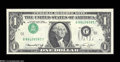 Error Notes:Inverted Third Printings, Fr. 1908-J $1 1974 Federal Reserve Note. Gem Crisp Uncirculated....