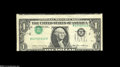Error Notes:Inverted Third Printings, Fr. 1913-B $1 1985 Federal Reserve Note. Extremely Fine....