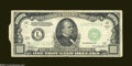 Error Notes:Attached Tabs, Fr. 2212-L $1,000 1934A Federal Reserve Note. Very Fine....