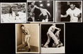 Boxing Collectibles:Memorabilia, c. 1943-50 Joe Louis Photograph Lot of 5.... (Total: 5 items)