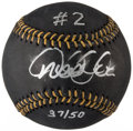 Autographs:Baseballs, Derek Jeter Single Signed Black Limited Edition Baseball....