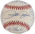 Autographs:Baseballs, 3,000 Hit Club Multi-Signed Baseball (17 Signatures). ...