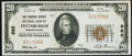 National Bank Notes:Pennsylvania, Pittsburgh, PA - $20 1929 Ty. 1 The Farmers Deposit NB Ch. # 685 Very Fine-Extremely Fine.. ...