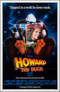 "Movie Posters:Comedy, Howard the Duck (Universal, 1986). Folded, Very Fine. One Sheet(27"" X 41"") SS, Advance. Comedy.. ..."