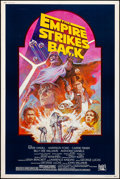 "Movie Posters:Science Fiction, The Empire Strikes Back (20th Century Fox, R-1982). Rolled, VeryFine-. Poster (40"" X 60"") Tom Jung Artwork. Science Fiction..."