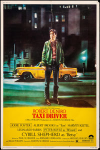 """Taxi Driver (Columbia, 1976). Rolled, Very Good/Fine. Poster (40"""" X 60""""). Crime"""