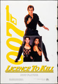 "Movie Posters:James Bond, Licence to Kill (United Artists, 1989). Rolled, Fine+. Bus Stop (48"" X 70""). James Bond.. ..."