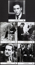 """Movie Posters:Crime, The Godfather Part II (Paramount, 1974). Fine. Presskit Materials (8.5"""" X 11"""") and Photos (11) (8"""" X 10"""") With Original Stud... (Total: 18 Items)"""