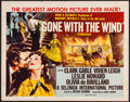 """Movie Posters:Academy Award Winners, Gone with the Wind (MGM, R-1954). Folded, Fine/Very Fine. Half Sheet (22"""" X 28"""") Style A. Academy Award Winners.. ..."""