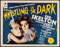 """Whistling in the Dark (MGM, 1941). Very Fine. Title Lobby Card (11"""" X 14""""). Comedy"""