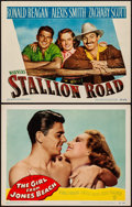 """Movie Posters:Comedy, The Girl from Jones Beach & Other Lot (Warner Brothers, 1949).Very Fine. Lobby Cards (2) (11"""" X 14""""). Comedy.. ... (Total: 2Items)"""