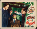 """Movie Posters:Comedy, Arsenic and Old Lace (Warner Brothers, 1944). Very Fine-. LobbyCard (11"""" X 14""""). Comedy.. ..."""