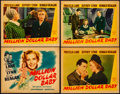 Movie Posters:Drama, Million Dollar Baby (Warner Brothers, 1941). Fine/Very Fine. Linen Finish Title Lobby Card & Linen Finish Lobby Cards (3) (1... (Total: 4 Items)