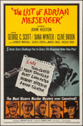 """Movie Posters:Mystery, The List of Adrian Messenger & Other Lot (Universal, 1963). Folded, Overall: Fine/Very Fine. One Sheets (2) (27"""" X 41"""") & Ti... (Total: 3 Items)"""