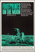 "Movie Posters:Documentary, Footprints on the Moon: Apollo 11 (20th Century Fox, 1969). Folded, Very Fine+. One Sheet (27"" X 41""). Documentary.. ..."