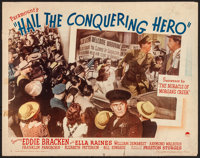 """Hail the Conquering Hero (Paramount, 1944). Rolled, Fine+. Half Sheet (22"""" X 28"""") Style B. Comedy"""