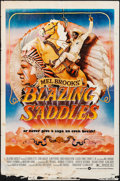 "Movie Posters:Comedy, Blazing Saddles & Other Lot (Warner Brothers, 1974). Folded, Overall: Fine+. One Sheets (3) (27"" X 41""). John Alvin Artwork.... (Total: 3 Items)"