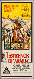 "Movie Posters:Academy Award Winners, Lawrence of Arabia (Columbia, 1963). Folded, Very Fine-. AustralianDaybill (13"" X 30""). Academy Award Winners.. ..."