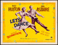 """Movie Posters:Musical, Let's Dance (Paramount, 1950). Folded, Fine/Very Fine. Half Sheet (22"""" X 28"""") Style B. Musical.. ..."""