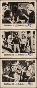 "Movie Posters:Drama, The Misfits (United Artists, 1961). Very Fine-. Lobby Cards (3) (11"" X 14""). Drama.. ... (Total: 3 Items)"
