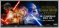 Star Wars: Episode VII - The Force Awakens (Walt Disney Studios, 2015). Rolled, Very Fine+. Indian Six Sheet (112.25&quo...