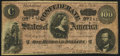 Confederate Notes:1864 Issues, T65 $100 1864 PF-1 Cr. 490 Fine.. ...