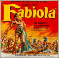"Movie Posters:Foreign, Fabiola (United Artists, 1951). Folded, Fine+. Six Sheet (80"" X 78""). Foreign.. ..."