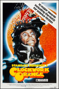 """Movie Posters:Science Fiction, A Clockwork Orange (Warner Brothers, R-1982). Folded, Very Fine+. One Sheet (27"""" X 41""""). Science Fiction.. ..."""
