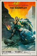 "The Gauntlet (Warner Brothers, 1977). Folded, Very Fine. One Sheet (27"" X 41""). Frank Frazetta Artwork. Action..."