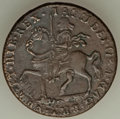 Ireland, Ireland: James II brass Gunmoney Crown 1690 VF, ...
