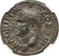 Ancients:Roman Imperial, Ancients: Marcus Agrippa, Lieutenant of Augustus (died 12 BC). AE(29mm, 11.17 gm, 6h). NGC Choice AU 5/5 - 3/5, Fine Style....