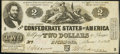 Confederate Notes:1862 Issues, T42 $2 1862 Extremely Fine.. ...