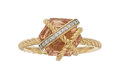 Estate Jewelry:Rings, Morganite, Diamond, Gold Ring, David Yurman . ...
