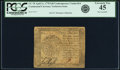 Colonial Notes:Continental Congress Issues, Continental Currency April 11, 1778 $40 Contemporary Counterfeit PCGS Extremely Fine 45.. ...