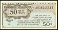 Military Payment Certificates:Series 461, Series 461 50¢ About New.. ...