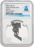 Explorers:Space Exploration, I.S.S.: Official NASA International Space Station Pin Directly From The Armstrong Family Collection™, CAG Certified. ...
