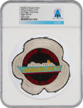 """Explorers:Space Exploration, African Eclipse Cruise: Neil Armstrong's Personally-Owned """"Shadow Chasers African Eclipse '73"""" Event Patch From The Armstrong ..."""